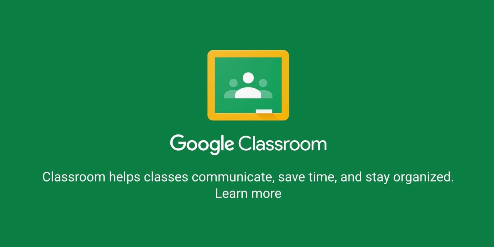 phần mềm học online google classroom