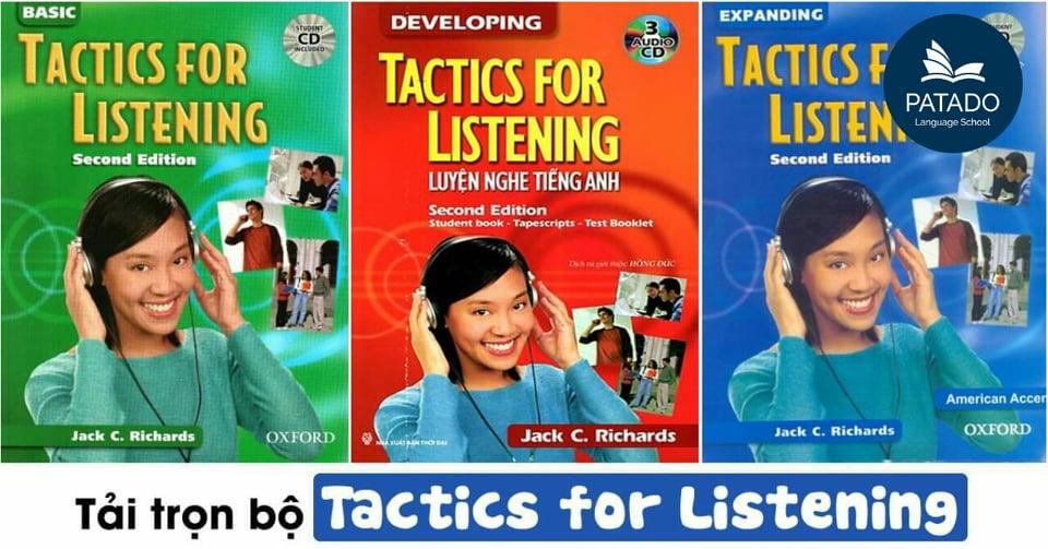 Tổng quan bộ sách Tactics for listening basic