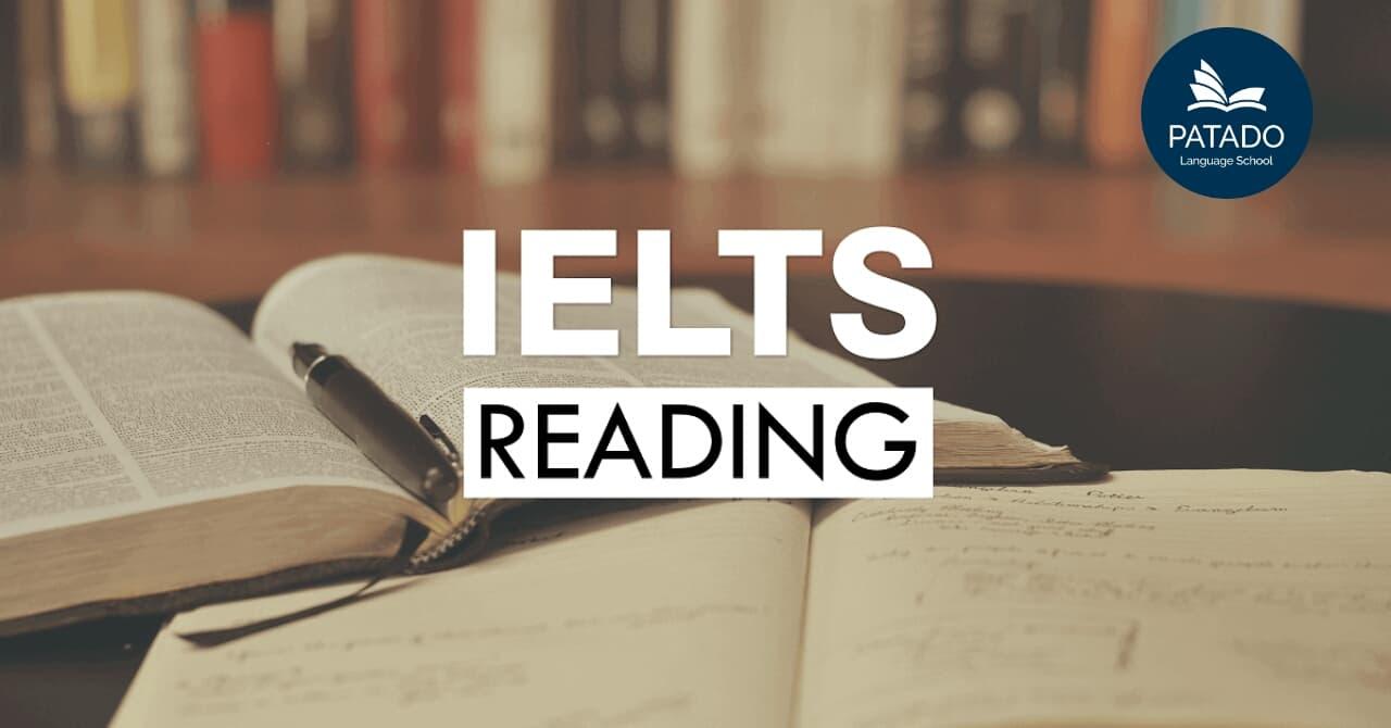 Bài Thi Reading IELTS