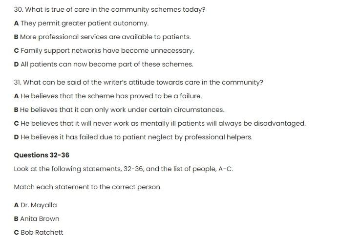 Bài tập IELTS và đáp án mẫu đề thi IELTS Reading (cập nhập mới nhất 2020)