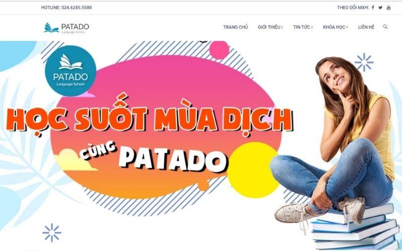 Luyện thi ielts trực tuyến tại Patado
