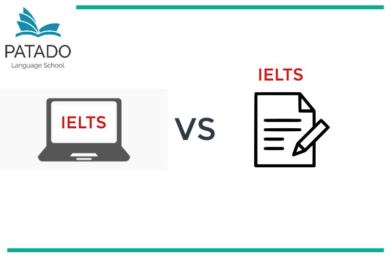 Hình thức thi IELTS trên giấy & trên máy tính - Patado