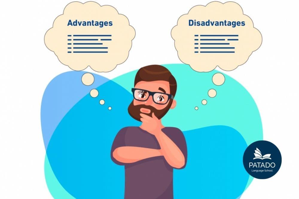 ielts writing task 2 dạng advantages and disadvantages