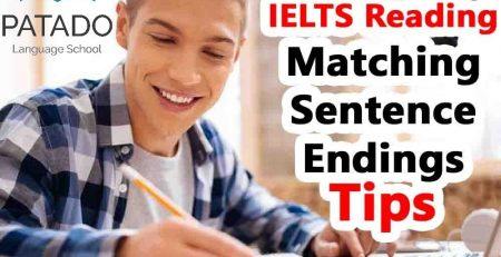 Reading IELTS Matching endings