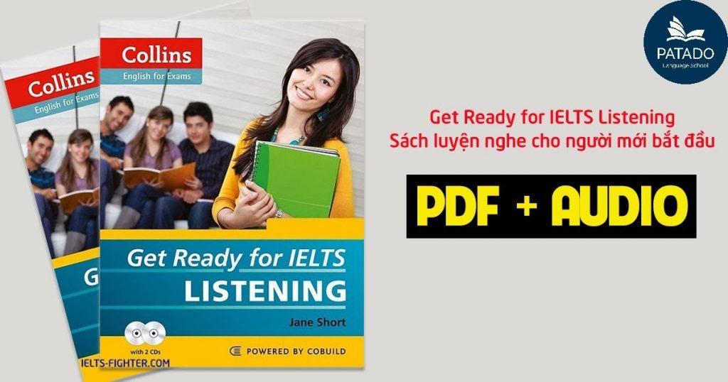 sách luyện thi ielts listening get ready for ielts