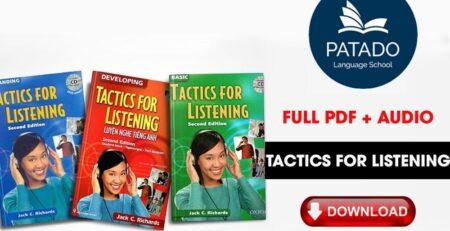 Trọn Bộ Tactics For Listening Basic