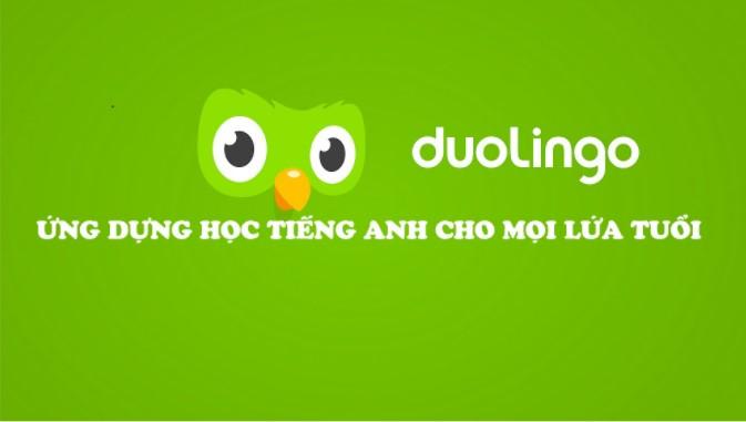 Học tiếng Anh trực tuyến cùng Duolingo