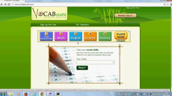Học tiếng Anh trực tuyến cùng VocabSushi