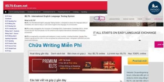 Web học IELTS Writing