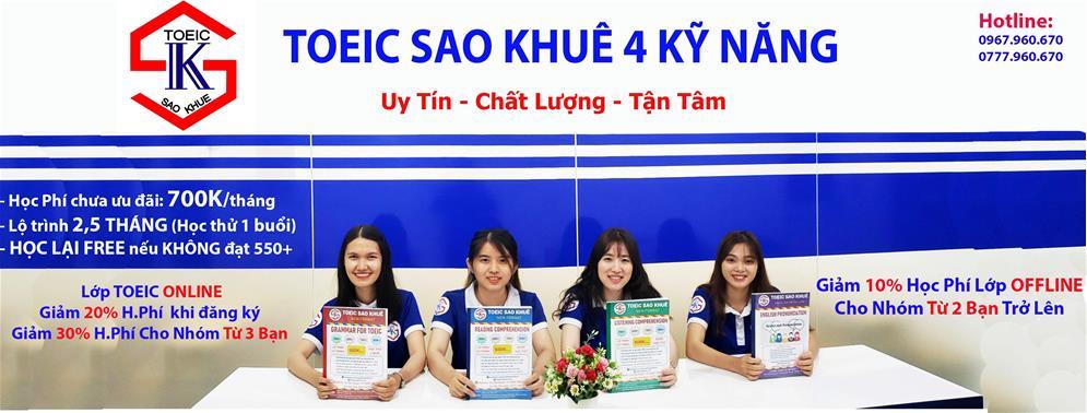 5 Trung tâm tiếng Anh luyện thi TOEIC tốt nhất tại Hồ Chí Minh