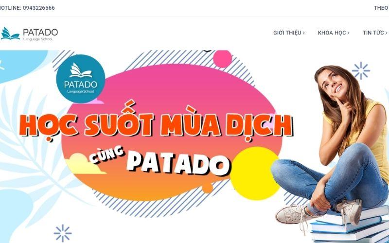Khóa học IELTS ONLINE tại Trung tâm Anh ngữ Patado