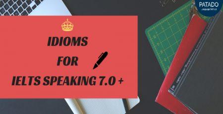idioms - ielts speaking