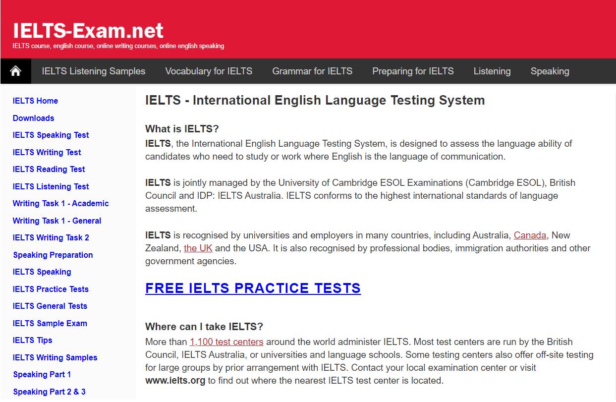 IELTS-exam
