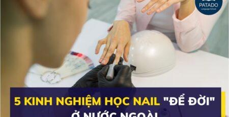 kinh nghiệm học nail