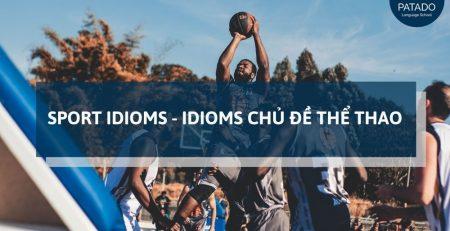 idioms chủ đề thể thao patado