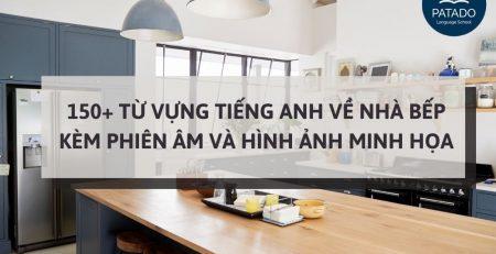 từ vựng tiếng anh về nhà bếp