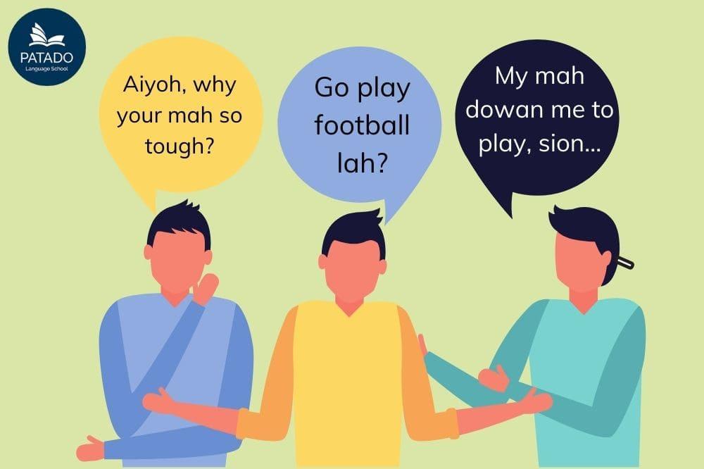 singaporean accent